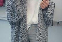 swetry,sweterki,duż i małe-Sweaters large and small / dziewiarstwo