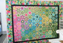 Quilts - stack whack, kaleidoscope / by Cindy Peterson