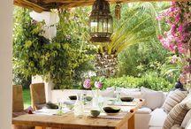 Gartensitzplätze