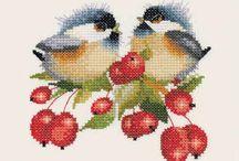 Haft krzyzykowy (zwierzeta) / Cross stitching (animals)