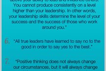 Leadership / Educating you on how to be a better leader