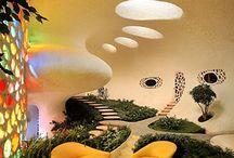Progetti da provare / Space age Houses and Furniture.