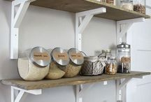 Storage ideas / by Brittany Doherty