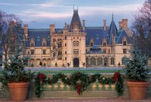 Biltmore - America's Castle / The luxurious family home of George and Edith Vanderbilt is a marvel of elegance and charm, as magnificent today as it was more than a century ago. ~ Biltmore website / by tanya m. smith