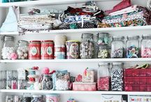 Sewing and crafts room ideas