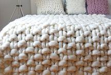 Couvertures en tricot