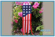 4th of July Designs / Embroidery and Applique Designs for the 4th of July Holiday