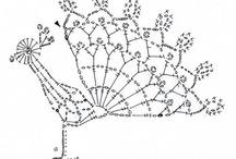 Crochet animaux et autres pts motifs