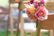ウェディング チャペル装飾&チェアフラワー chair flower wedding