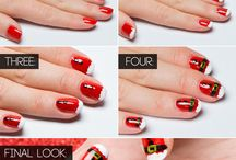Cristmas nail design