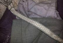 Egen produksjon / Brikkebånd, Brikkebånd vev, Nålebinding, Viking, Vev, Needlebinding, Tablet weaving