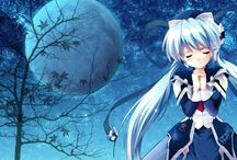#blue #moon #anime