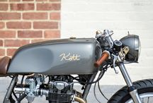 Old sport / Cafe racer motorcycle