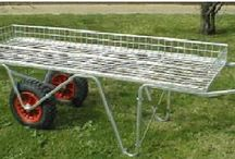 Trolleys and Barrows - Handling Equipment / Useful handling equipments such as trolleys and barrows to carry gardening products