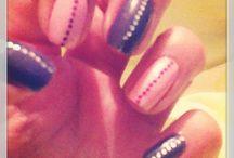 Uńas Fáciles / Nail art uñas fáciles hechas en casa.