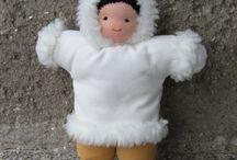 Waldorfské panenky / Ručně šité panenky