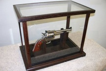 Firearm Displays / Need some help in displaying your collectible pistols, guns, rifles and other firearms? Look no further! Fine Home Displays works with craftsmen around the country to bring you custom built display cases worthy of your collection.