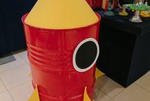 8 anos do João - Festa do espaço