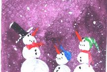 Holiday Paintings