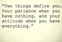 Two things...