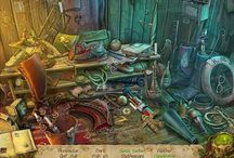 Games [ Hidden Object | Puzzle & Adventure ] / A Hidden Object Game at a basic level involves finding hidden objects in a picture. The HO games I play do involve this task, but also navigating scenes searching for clues/objects, solving puzzles and mysteries etc. (I'm into more of the sub-genre called HOPA, or Hidden Object Puzzle Adventures)