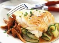 light cabillaud courgette