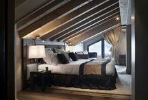 slaapkamer  landelijke wonen