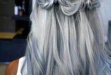 A hair affair. / Gorgeous hair colours.