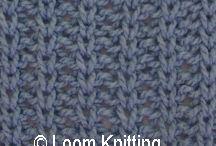 Loom knit patterns