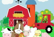 granja animales