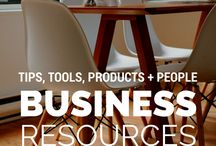 Business Resources / Different resources on creating your own business