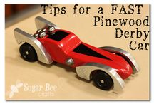 Pinewood Derby / Every Scout wants the coolest and fastest Pinewood Derby Car. Here are some ideas to help inspire you!