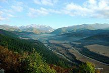 El otoño de Hecho a Biniés / http://www.viajealpirineo.com/hecho-binies/