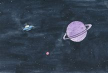 Alien & Astronot
