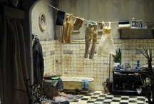 Miniatures-Rooms-Bathrooms / by Diane Talon