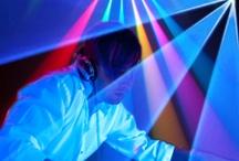 Blacklight DJ Party Lighting Decorations