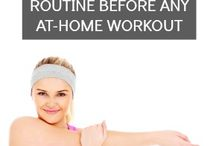 fitness and work-outs / by emilie ahern