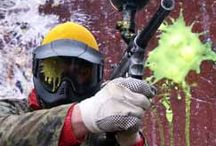 Explore Brown County Paintball / eXplore Brown County features over 80 acres of fields from Speedball to Scenario to Densely Wooded area.