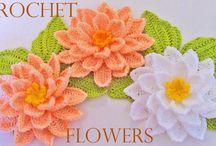 Flores em croche