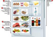 come organizzare il cibo in frigorifero