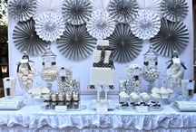 Silver Vintage Birthday Party