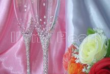 Glass- bryllup