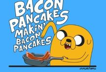 Bacon Adventure Time! / For the elite few with bacon lined arteries are the following culinary delights! / by Jolene Little