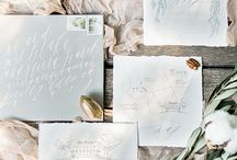 Calligraphy and paper