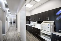 Sterilization Dental Office Designs / Some sleek, cool, modern sterilization center designs by Arminco Inc