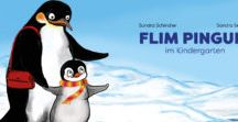 Pinguine / Eine Sammlung für Fans von Flim Pinguin und anderen Pinguinen: Nachhaltige oder einfach großartige Pinguine zum Kaufen, aber auch Pinguine zum Anschauen, in Büchern, Filmen und Pinguine zum Basteln. Hauptsache Pinguin