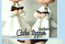 caketopper / decorazioni torte