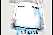 módní ilustrace