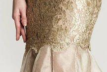 Vestidos dorados