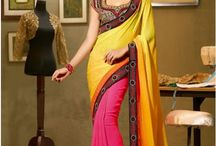 Designer Sarees / Shop now latest designer sarees, bollywood sarees, party wear sarees, casual sarees and exclusive sarees etc.